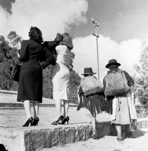 Nereo López Meza - 1957, Bogota-Monserrate