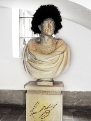 LA HISTORIA NUESTRA, CABALLERO – BOGOTÁ - Intervenciones de monumentos de la colección permanente  del Museo Nacional de Colombia - 2010 Participante de la exposición temporal,  Las historias de un grito. 200 años de ser colombianos. Bicentenario
