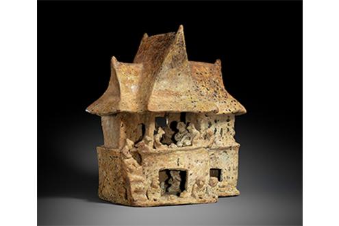 Maquetas arquitectónicas precolombinas