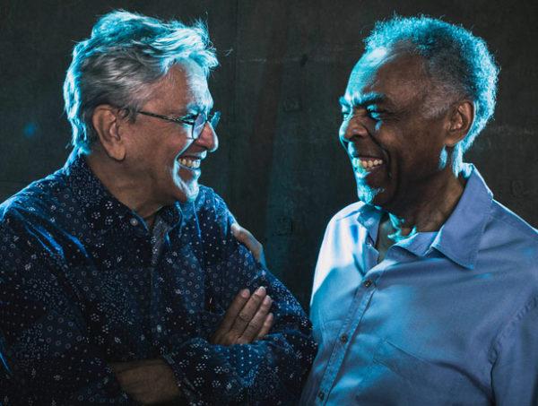 Caetano Veloso y Gilberto Gil