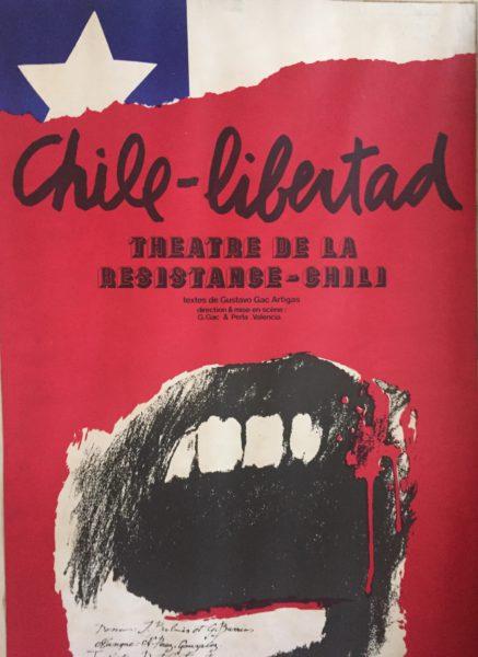 afiche chile libertad 1978