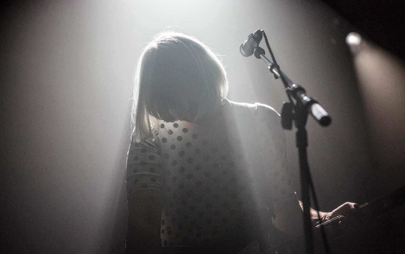 "Photo Credits: Adela Loconte, ""Sharin Foo of The Raveonettes"""
