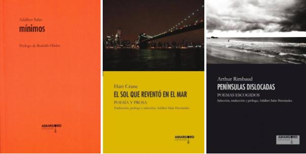 Adalber Salas Hernández presenta 3 libros de Amargord Ediciones