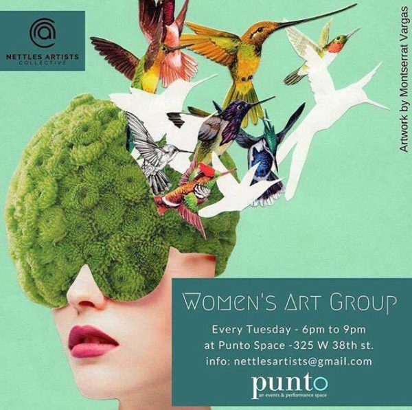 The women s art group para crear juntas viceversa for 38th street salon