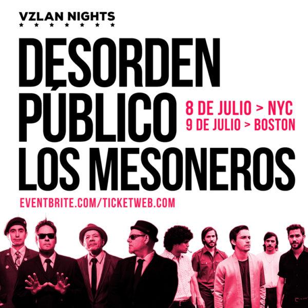 Desorden Público Los Mesoneros en NYC ViceVersa