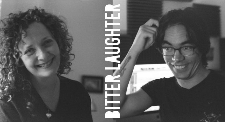 bitter laughter