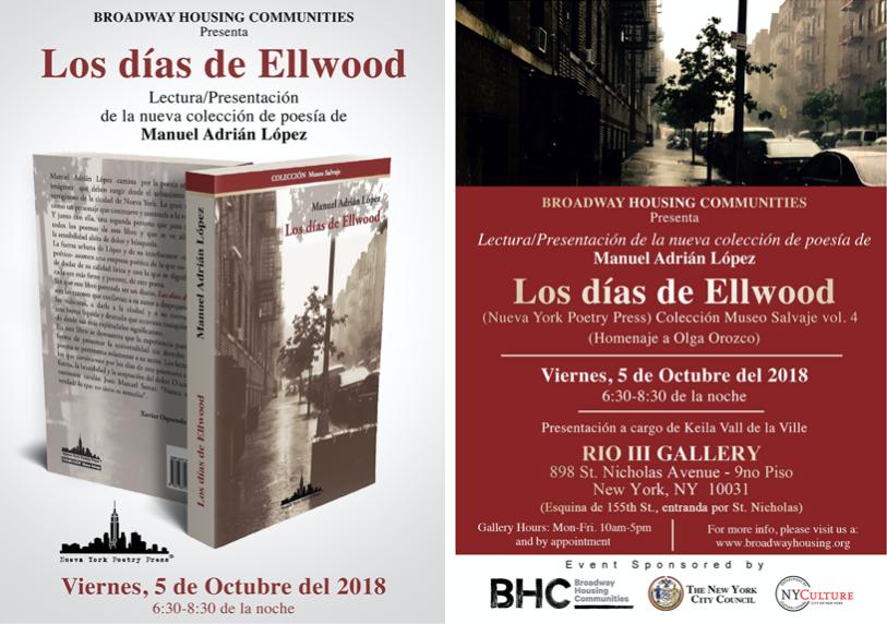 Manuel Adrián López presenta Los días de Ellwood