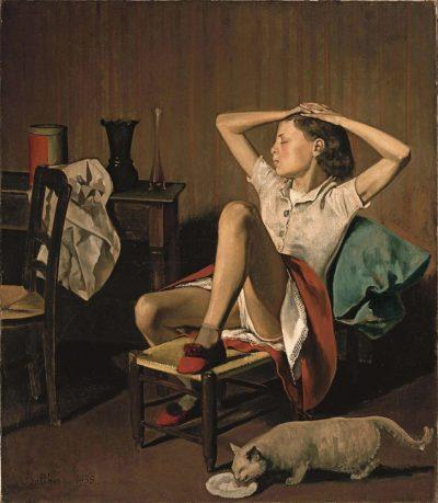Thérèse, cuadro de Balthus