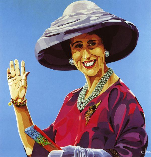 Carmen Polo de Franco, por Costus