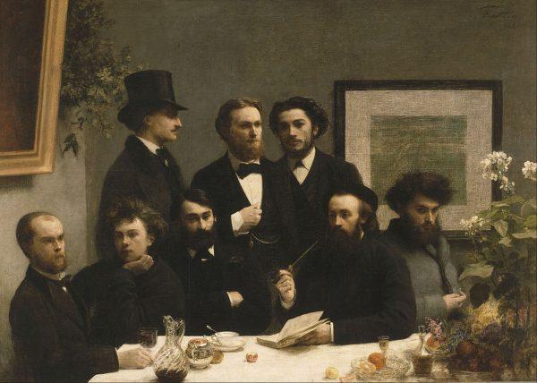 Henri Fantin LAtour, Alrededro de la Mesa, 1872, Museo D'Orsay Paris