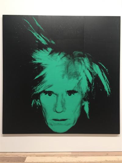 Retrato de Warhol