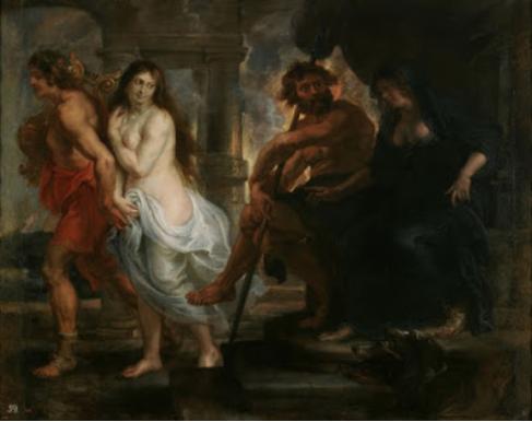 Orfeo Eurídice (1638), de Pedro Pablo Rubens. Museo del Prado.