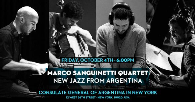 MARCO SANGUINETTI QUARTET / New Jazz from Argentina