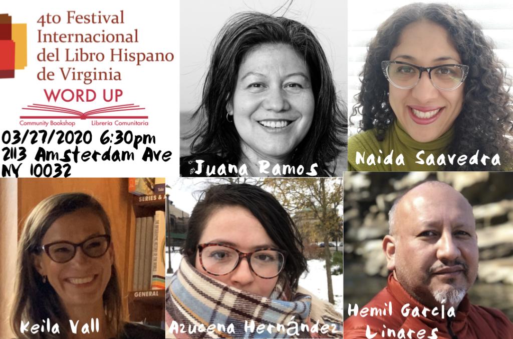 4to festival internacional del libro hispano de virginia