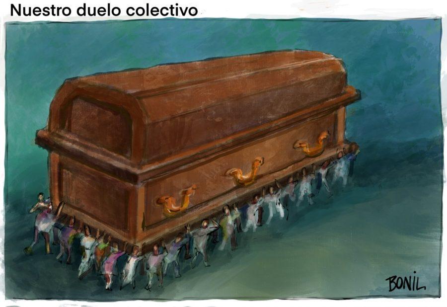 Bonil Xavier Bonilla caricatura Covid