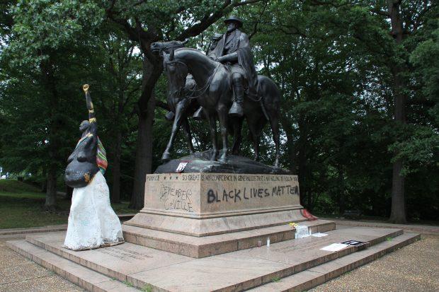 confederate statues down