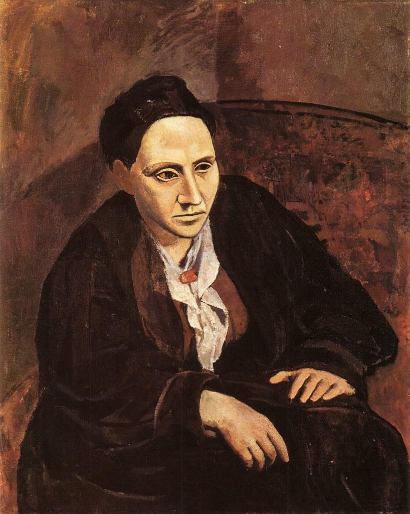 Retrato de Gertrud Stein