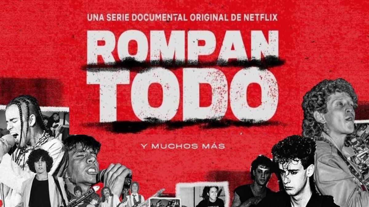 Rompan todo Una historia del rock en America Latina