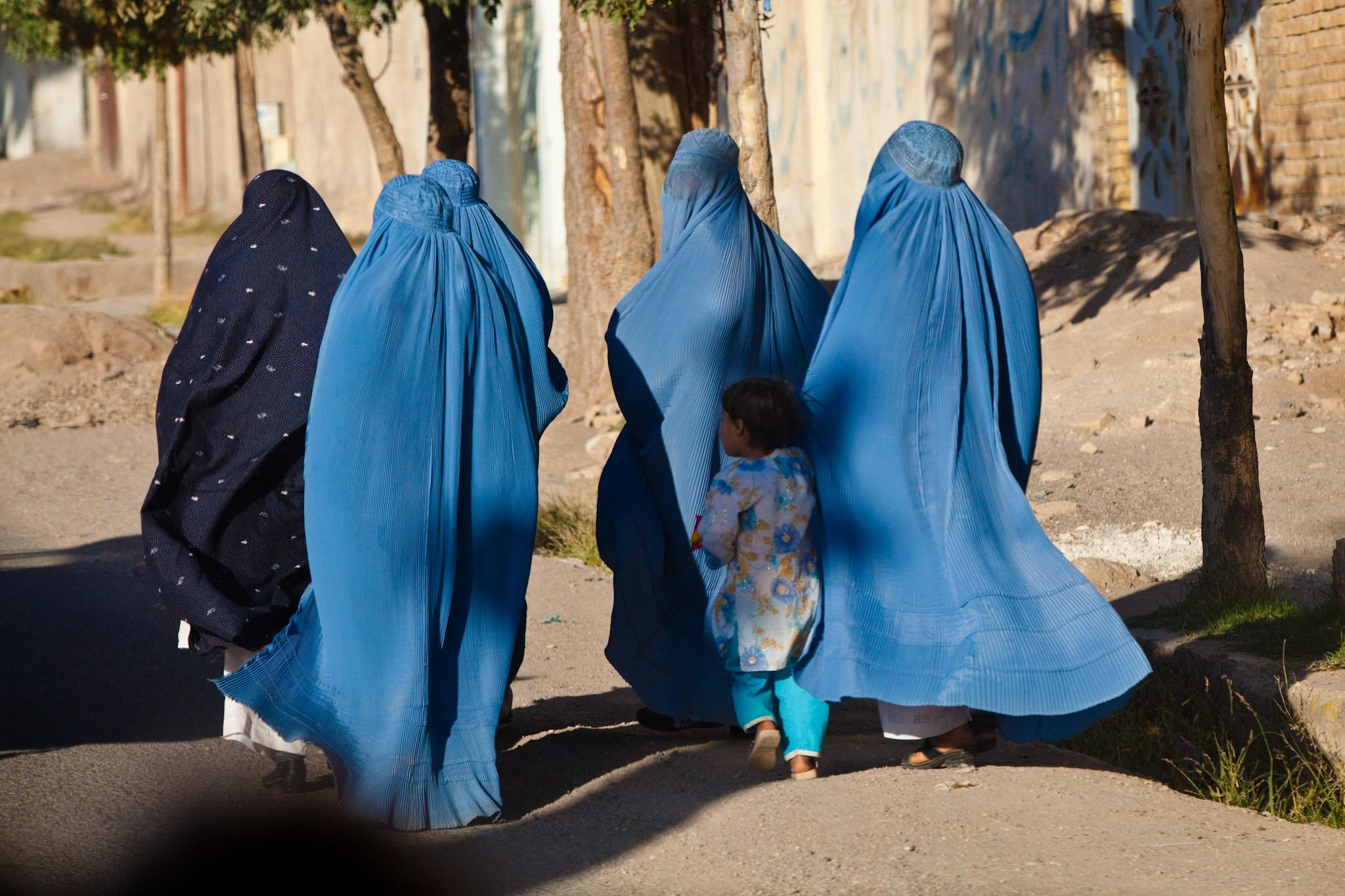 Women and children, Herat, Afghanistan